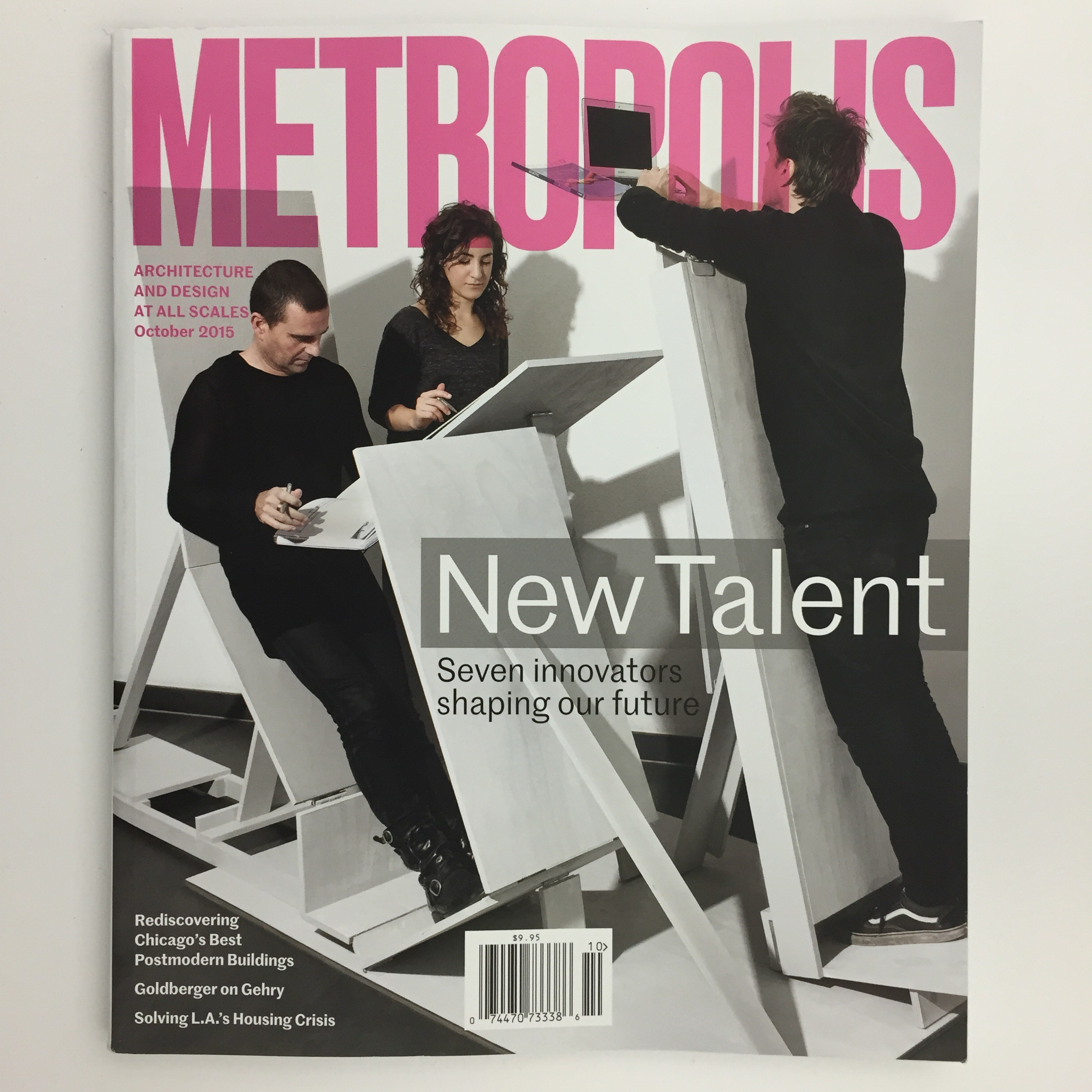 RAAAF elected New Talent by Metropolis NYC for our architecture of